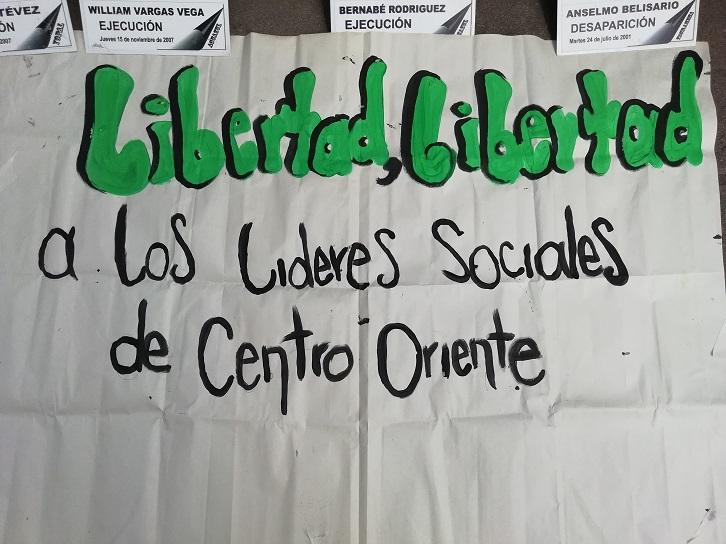 Comunicado: Denuncian al Estado Colombiano por detención arbitraria de 8 líderes ambientales ante la ONU